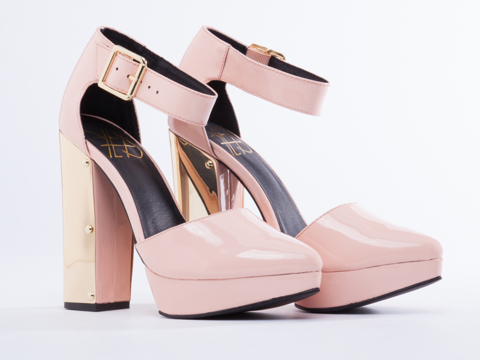 YES In Pink Patent Orion