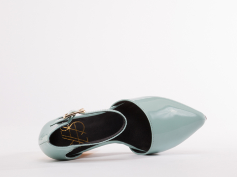 YES In Seafoam Green Patent Orion