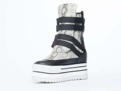 YES In Black Grey Snake Phoebe
