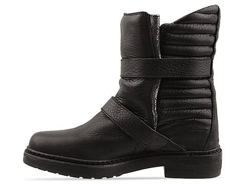 Zadig And Voltaire In Black Leather Ginger