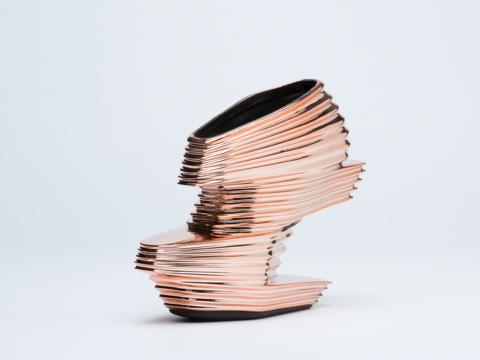 Zaha Hadid X United Nude In Rose Gold Nova