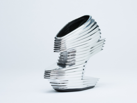 Zaha Hadid X United Nude In Silver Nova