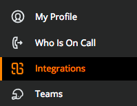 Integrations section