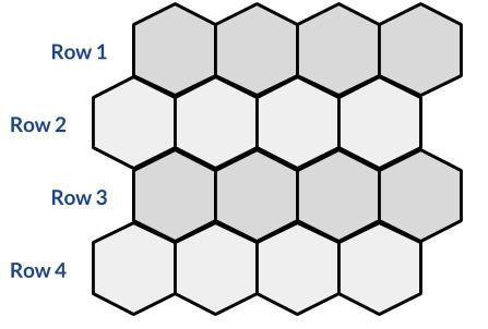 Hexagonal grid