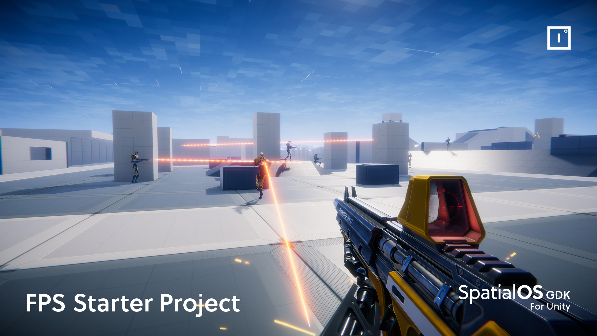Instant action in the FPS Starter Project