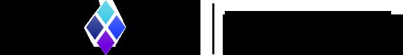 Blocvox composite diamond logo, with slogan 'Every voice counts'