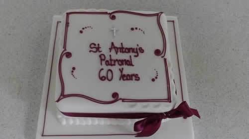 St ants patronal cake