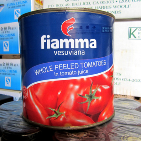 Medium whole peeled tomato