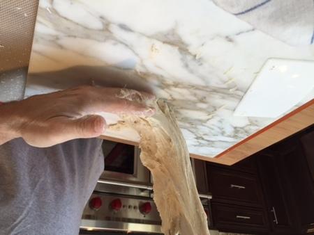 Medium 4 while kneading