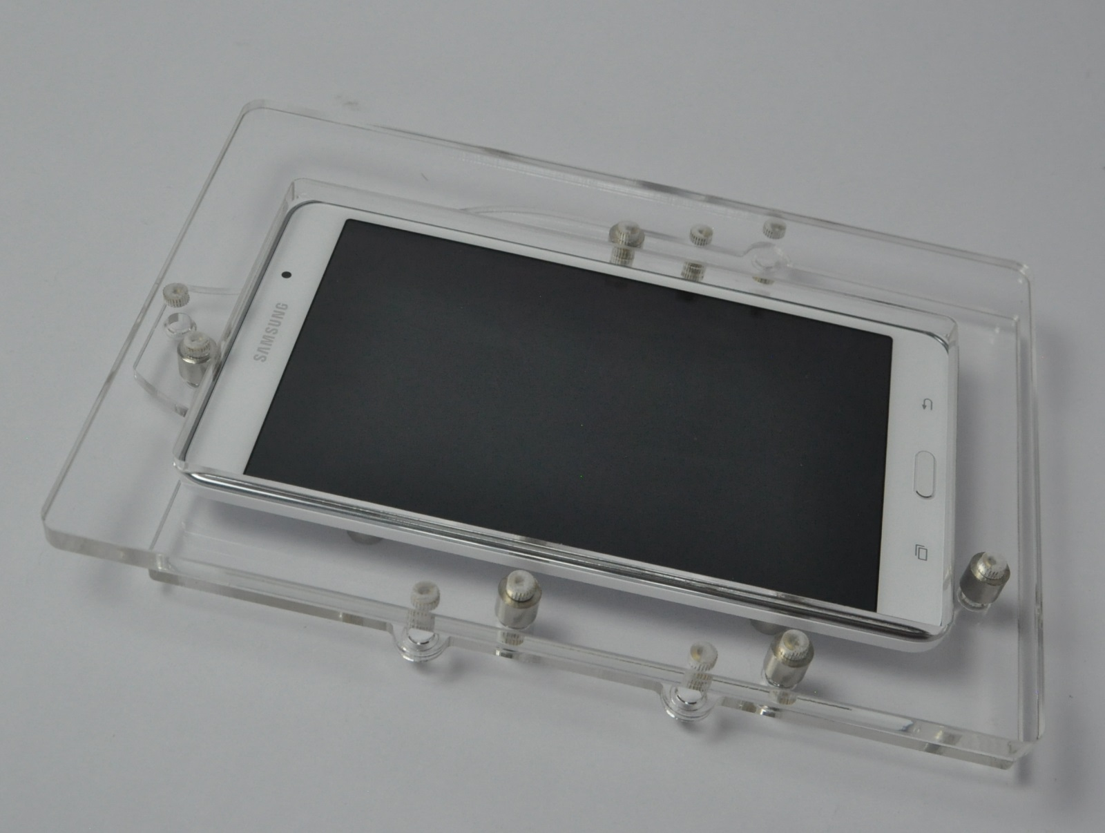 Samsung Galaxy Tab 3 7 0 Clear Acrylic Security Enclosure