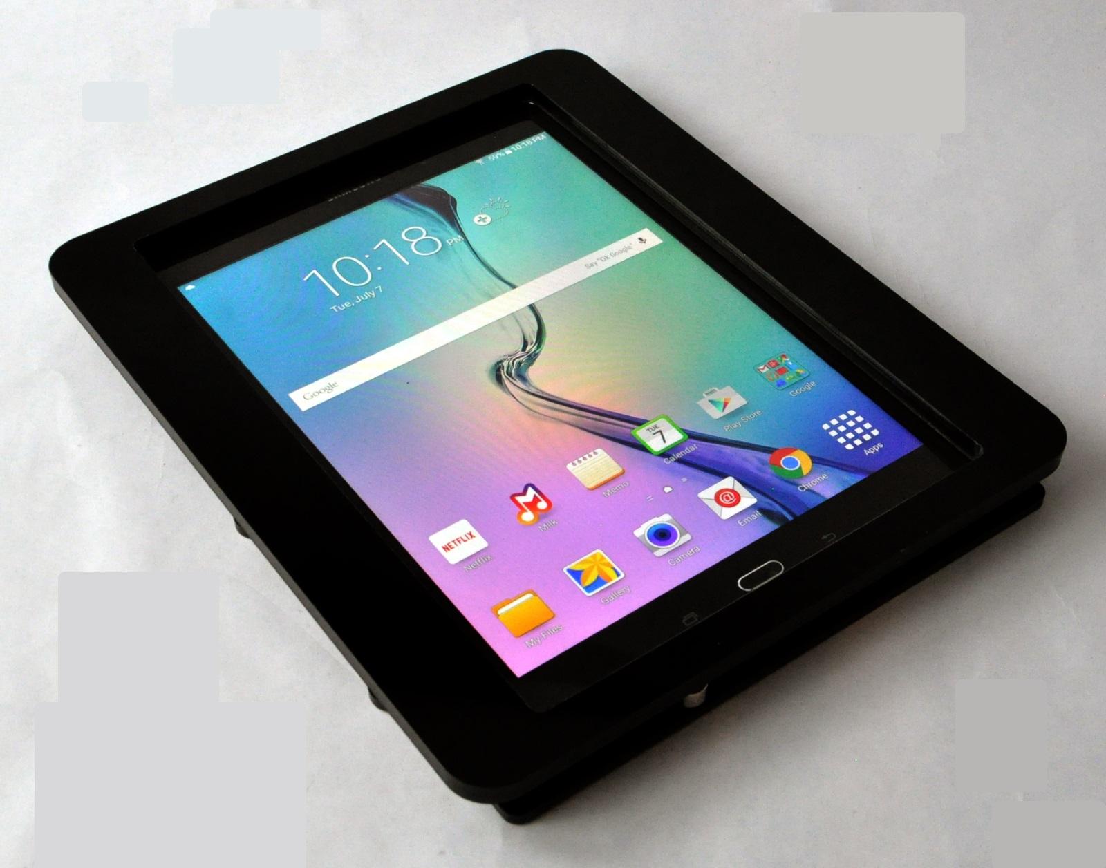 Samsung Galaxy Tab A 9 7 Black Acrylic Security Enclosure