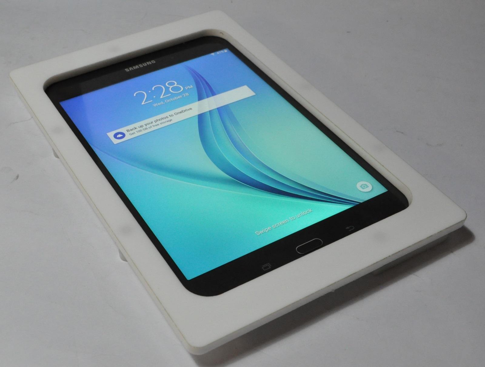 Samsung Galaxy Tab A 8 0 White Acrylic Security Enclosure