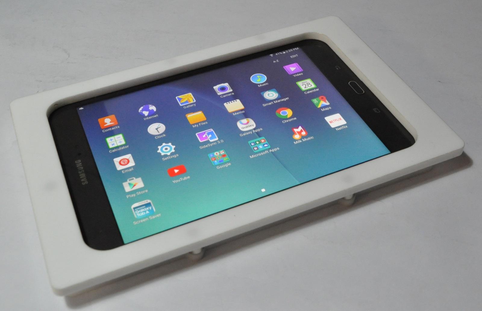 Samsung Galaxy Tab A 8 0 2015 White Acrylic Security