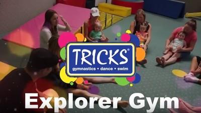 Explorer Gym Crawling-17 mo clip