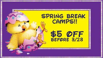 Spring Break Camps!
