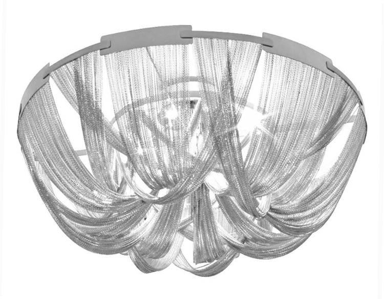 Plafon ATLANTA - aluminium, stal