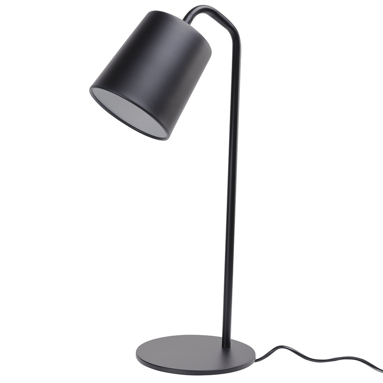 Lampa biurkowa FLAMING TABLE czarna
