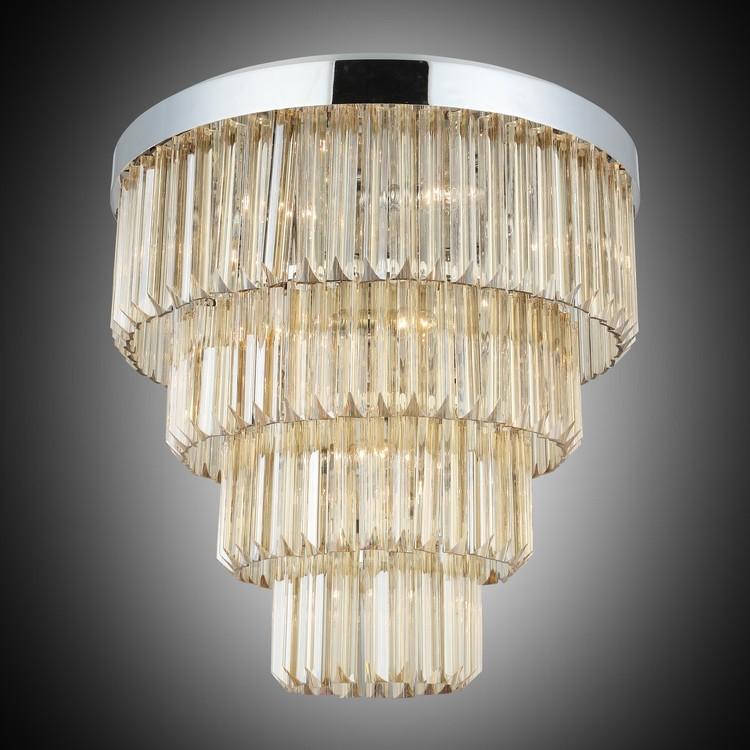 Kryształowa lampa sufitowa plafon  lucea gennaro 1418-51-14 hotel sala bankietowa restauracja salon