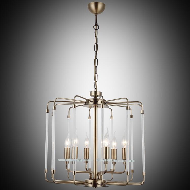 Klasyczna lampa żyrandol  lucea romanista 1395-52-06 salon sypialnia jadalnia  hotel sala bankietowa salon