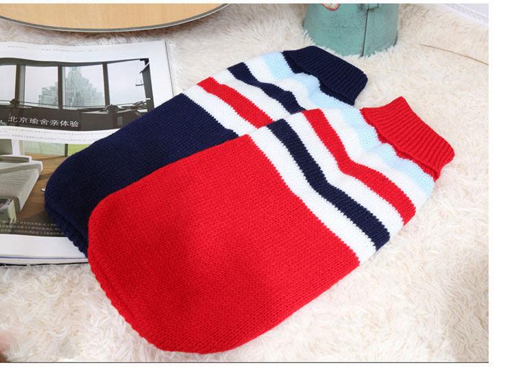 Wełniany elastyczny, ciepły sweter dla dużego psa