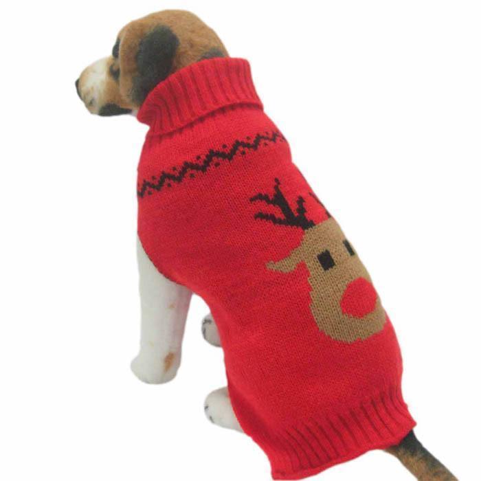 Sweter pulower świąteczny reniferek