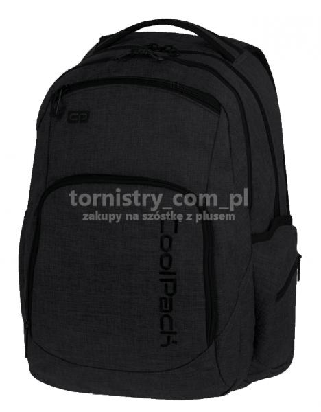 92fa09a847925 Plecak CoolPack BREAK 2 czarny, SNOW BLACK 862 (76401) | Shumee