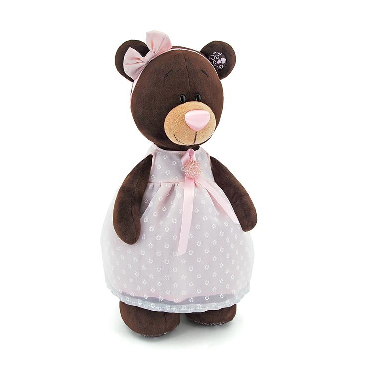 Przytulanka Stojąca Pani Milk w sukience - 30cm