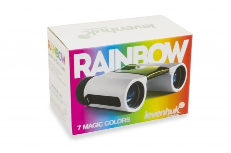 Lornetka Levenhuk Rainbow 8x25 - pomarańczowa #M1