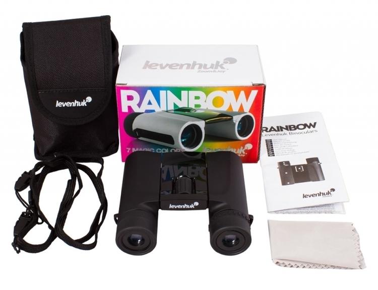 Lornetka Levenhuk Rainbow 8x25 - czarna #M1