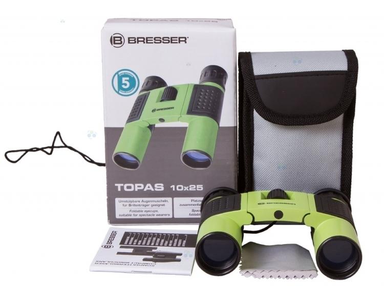 Lornetka Bresser Topas 10x25, zielony #M1