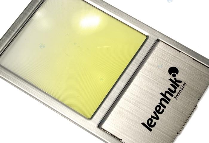 Lupa Zeno 90 z soczewką Fresnela 2,5x, 48x45mm #M1