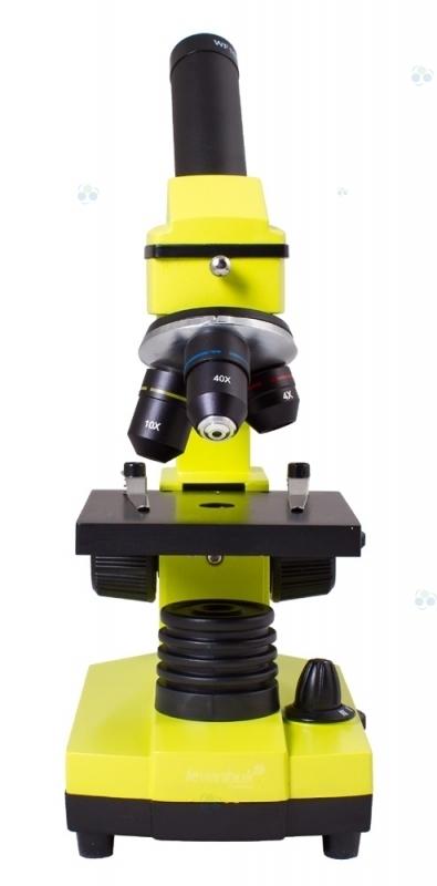 Mikroskop Levenhuk Rainbow 2L PLUS Lime\Limonowy  #M1