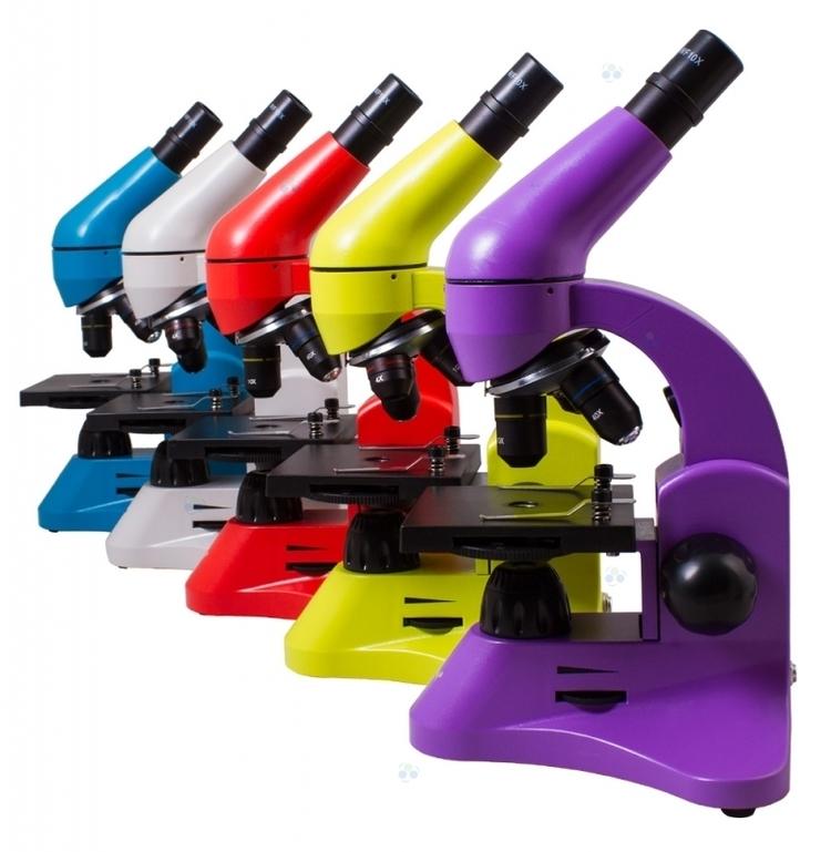 Mikroskop Levenhuk Rainbow 50L Lime\Limonowy #M1