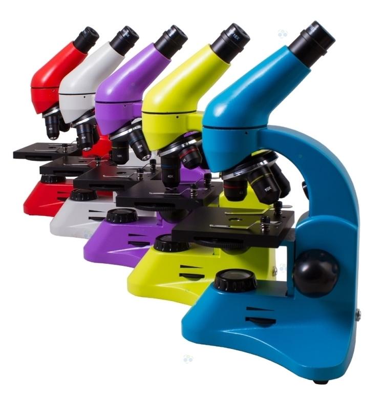 Mikroskop Levenhuk Rainbow 50L Plus Azure\Błękitny #M1