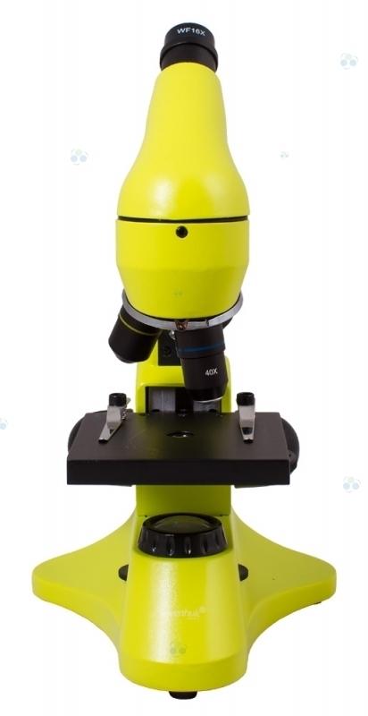 Mikroskop Levenhuk Rainbow 50L Plus Lime\Limonowy  #M1