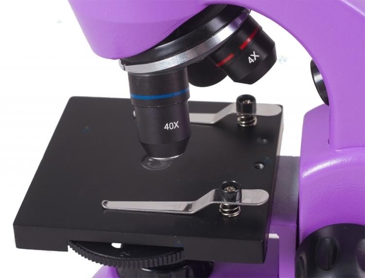 Mikroskop Levenhuk Rainbow 50L Plus Amethyst\Fioletowy #M1