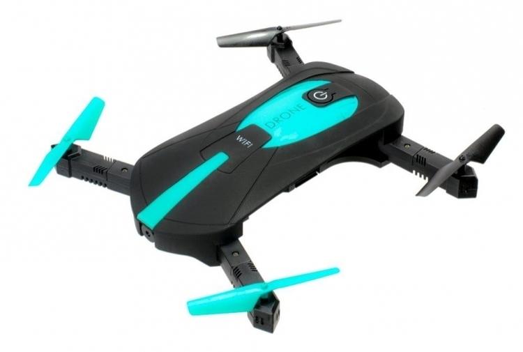Dron mini RC Selfie JY018 składany WIFI HD 360 #E1