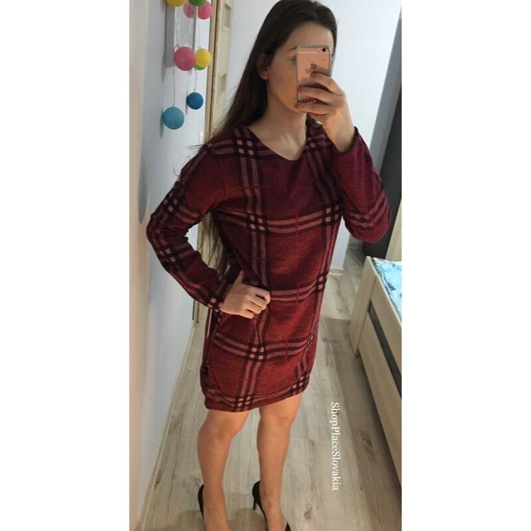 Sukienka ala BURBERRY