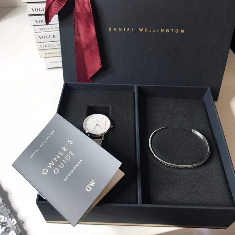 Zestaw zegarek z bransoletką Daniel Wellington