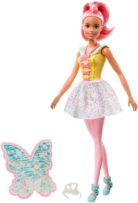 Lalka Barbie Dreamtopia Wróżka podstawowa Mattel FXT03