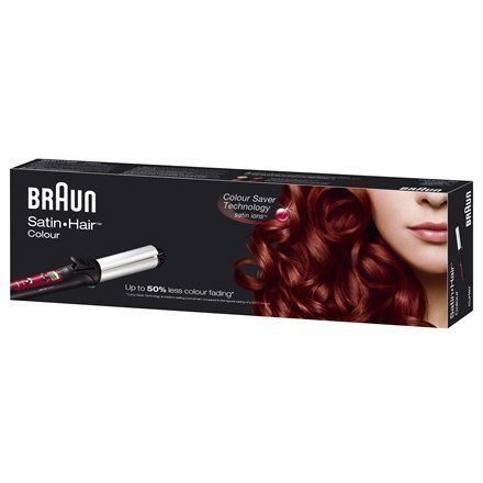 Hair curler Braun Satin Hair 7 CU750 Warranty 24 month(s), Ceramic heating system, Ion conditioning, Barrel diameter 32 mm, Temp w Strefie Komfortu