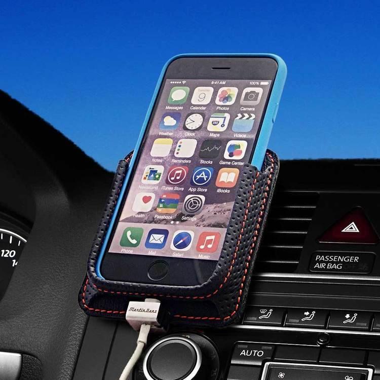 Uchwyt samochodowy iPhone PLUS: 8,7,6s Rally Black
