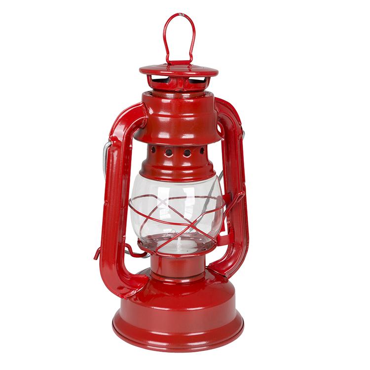 Lampa sztormowa 19cm czerwona