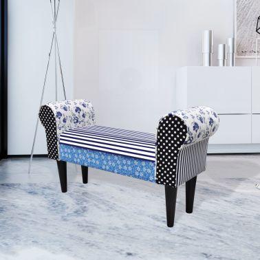 Rustykalna ławka do przedpokoju wiejski styl