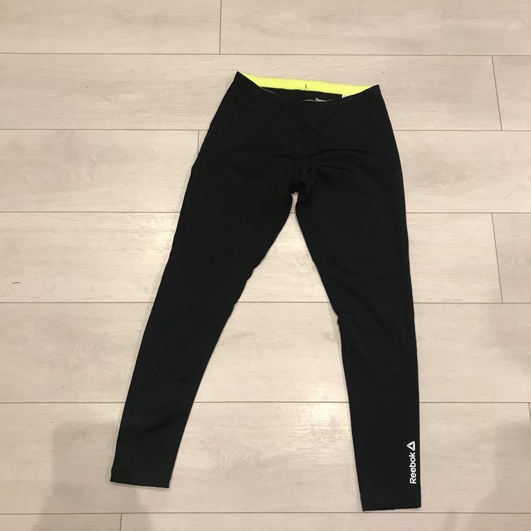 REEBOK RUNNING ESSENTIALS TIGHT czarne legginsy