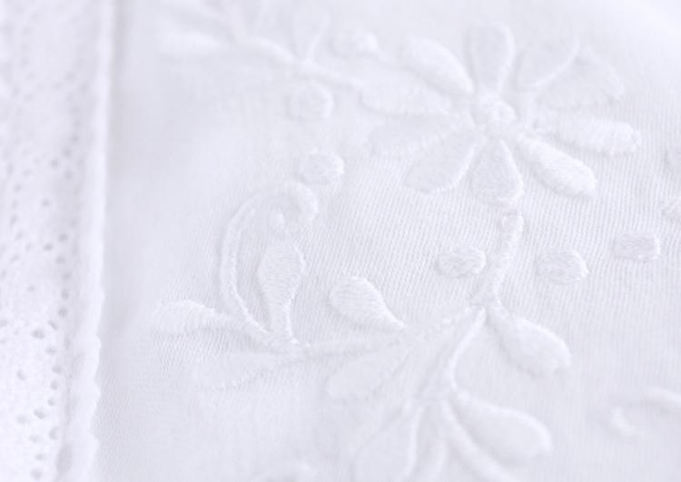 Pościel niemowlęca – haft kujawski