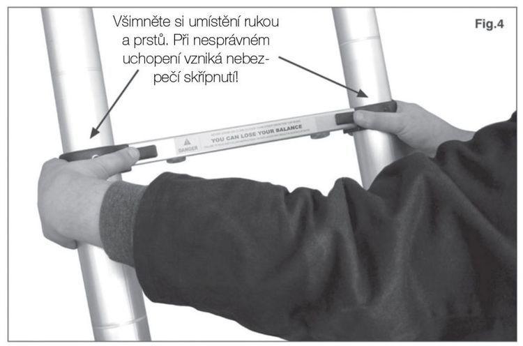 G21 Drabina teleskopowa aluminiowa GA-TZ11-3,2 M