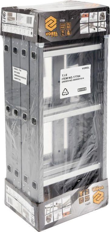 Drabina wielofunkcyjna - 3,4 m