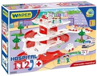 KID CARS 3D SZPITAL WADER - 53330 #A1