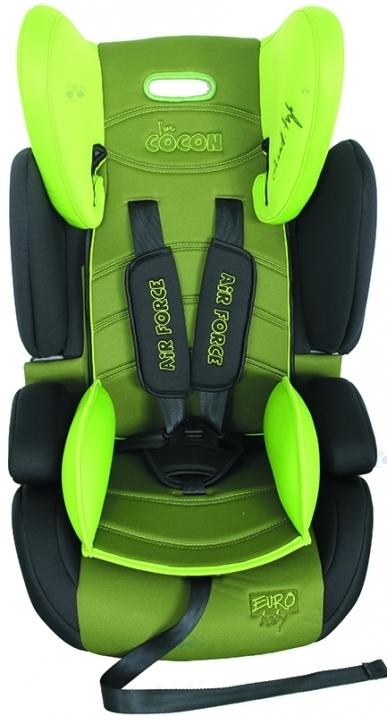 FOTELIK COCON LB509 GREEN #D1 9-36 kg